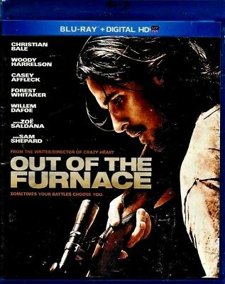Out of the Furnace Blu-ray Disc 2014 BALE NEW SEALED FREE TRACKING SHIPPING US