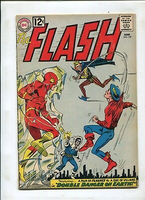 The Flash #129 (4.0) 1St Silver Age Green Arrow, Green Lantern And Hawkman