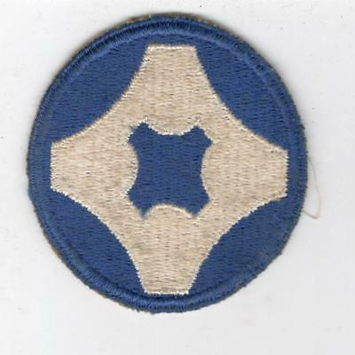 WW 2 US Army 4th Service Command Patch Inv# Y501