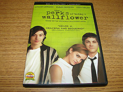 The Perks of Being a Wallflower (DVD, 2012)   ***VERY NICE***