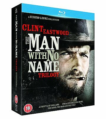 The Man With No Name Trilogy (Clint Eastwood) Blu-Ray BRAND NEW Free Shipping