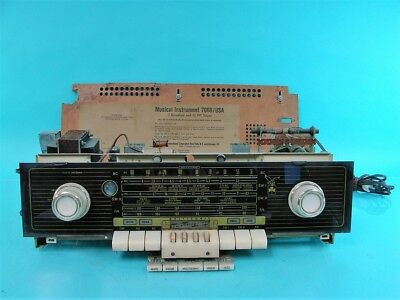 Vintage Grundig Majestic Model 7068 Am/sw Tube Radio Receiver Pulled Chassis
