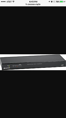 Crestron -NEW MP2E-AV-Control-System-Ethernet-Switch-audio-DS