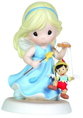 """Precious Moments Disney Pinocchio """"your Love Brings Good"""" 111021  Free Shipping"""