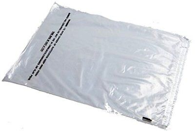 Clear Self Seal Plastic Packing Packaging Poly Bags Lip & Tape Suffocation Warn