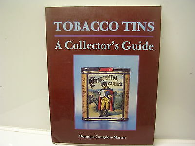 Tobacco Tins A collector's Guide by Douglas Congdon-Martin Schiffer Book 1992