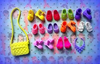 🌴🌴🌴Lot of *10 Pairs*of Barbie Tommy,Chelsea,Kelly doll shoes*NEW*🚁🚁🚁