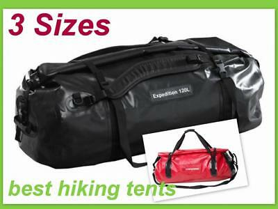 Caribee Expedition Waterproof Roll Top Gear Bag 4WD Wet Dry Duffel Backpack New*