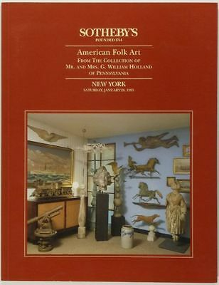 Book: Antique American Folk Art & American Antiques - Holland Collection 1995