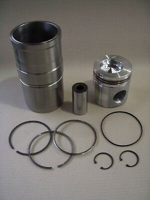 Cylinder Piston Set Case Combine Harvester 2188, 2365, 2366, 2388 - Cummins