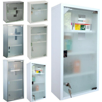 Medicine Cabinet Home Medical Supplies First Aid Wardrobe Apothecary