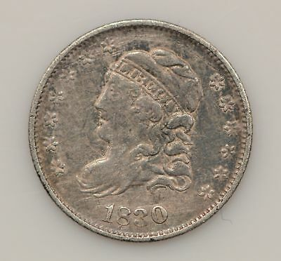 1830 Capped Bust Silver Half Dime *G35