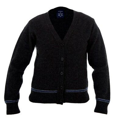 Harry Potter Lochaven GIRL Youth  RAVENCLAW (Blue-Silver) CARDIGAN New with tag