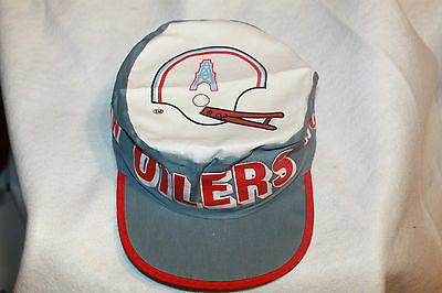 Houston Oilers Hat NFL Painters Cap Vintage Rare New Old Stock From the 80s