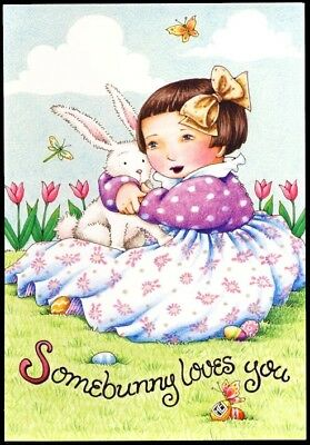 Mary Engelbreit Greeting Card - Easter for Mom, Somebunny Loves You