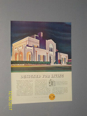 3 1936 Westinghouse Golden Jubilee 50Th Anniversary Ads Machine Age Art