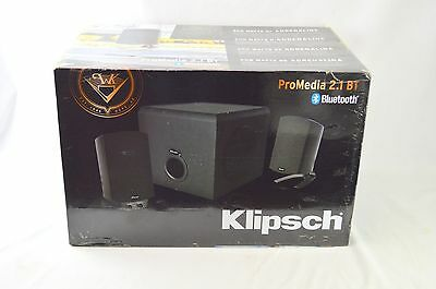 KLIPSCH Promedia 2.1 Bluetooth Black Bluetooth Computer Speaker And Subwoofer