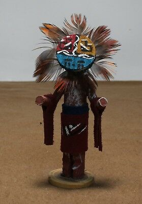 Navajo Sunface Kachina Doll Miniature  Free Shipping!!!