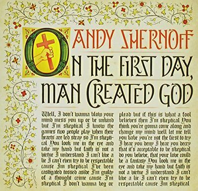 Andy Shernoff - On The First Day Man Created God CD CDB NEU