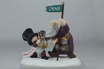 Dept 56 North Pole Acc 'Happy New Year-Dated 2000' New & Old #56.56443 In Box
