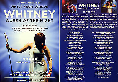 3 X Whitney Queen Of The Night Flyers - Rebecca Freckleton As Whitney Houston