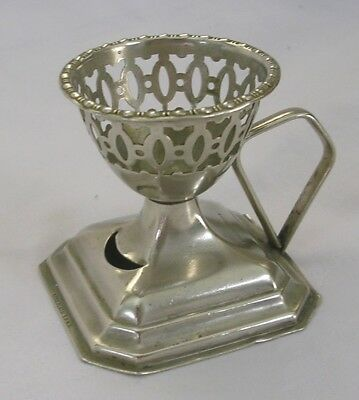 Old E.P.N.S. egg cup with handle Made in England EPNS