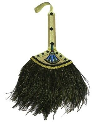 Egyptian Pharaoh Cleopatra Queen Hand Fan Parlor Stick Style Costume Accessory