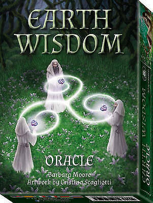 Earth Wisdom Oracle: 32 Full Colour Cards and Instructions by Barbara Moore | Pa
