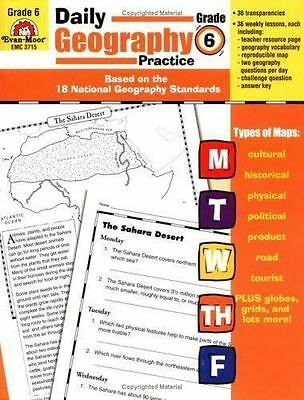 Daily Geography Practice: Grade 6