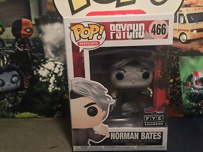 2017 NYCC FUNKO POP Norman Bates 466 FYE EXCLUSIVE Fast 💨 Shipping
