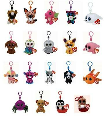 Ty Beanie Boos Key Clip Keyring Plush Soft Toys Choose from a large selection #1