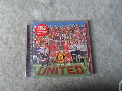 MANCHESTER UNITED - COME ON YOU REDS! - CD - 20 Tracks - UK