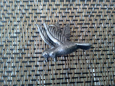 Always Together Birds 2 His & Hers MORNING DOVE 3D PEWTER CHARMS or PENDANTS New