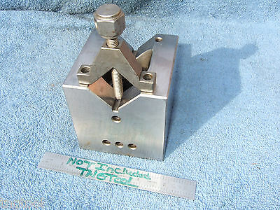 Cube 3.4 X 3.4 X 3.4 Toolmaker Machinist Clamp Never Used Other Sizes Here Also!