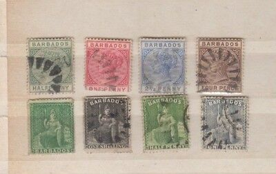 A nice old Barbados group of issues