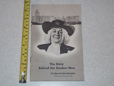The Story Behind The Quaker Man Oats Company Rare Old Vintage Advertisment