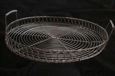 """Hand wired tray - 12"""" diameter"""