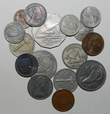 15 Coins From Fiji