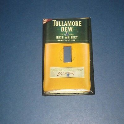 TULLAMORE DEW Triple Distilled Whiskey Bottle LIGHT SWITCH COVER PLATE B