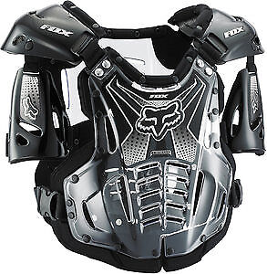 Fox Racing Airframe Chest Roost Protector Deflector Black