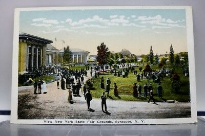 New York NY Syracuse State Fair Grounds Postcard Old Vintage Card View Standard