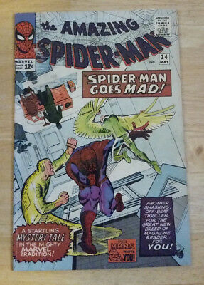 Amazing Spider-Man 24 Mysterio 3Rd Appearance