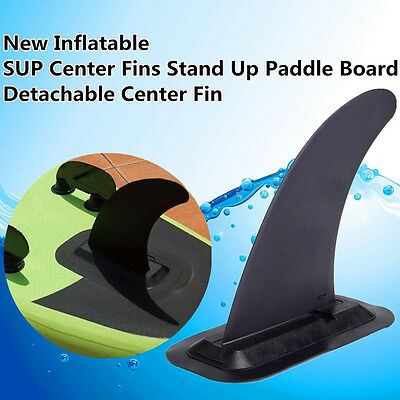 Inflatable Center Fin For SUP Paddle Surfing Board Protect Longboard 24*11*27cm