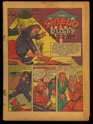 Pep Comics #14 Coverless o/w Complete Golden Age MLJ Comic 1941
