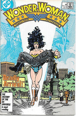 Wonder Woman Comic Book #3 DC Comics 1987 FINE+