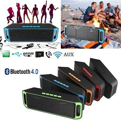 Dual Bluetooth Wireless Lautsprecher FM Radio USB Mic TF-Karte für Outdoor