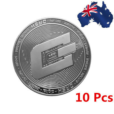AU!! Silver Plated Diameter 38mm Dash Coin Commemorative Coin Collectible Gifts