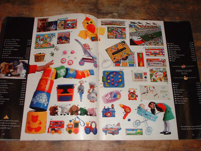 1990 WOOLWORTHS CHRISTMAS catalogue 34 PAGES includes TOYS SEGA games chocolates