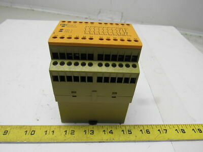 Pilz PZE 9 8S/10 774150 Safety Relay Module 24VDC