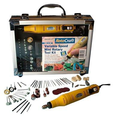 Variable Speed Rotary Tool Kit Rotacraft RC18